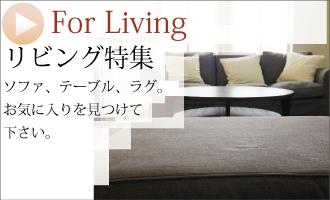 リビング特集 ゆったりとしたサイズに機能的でこだわり抜かれた素材。輸入家具のある暮らし